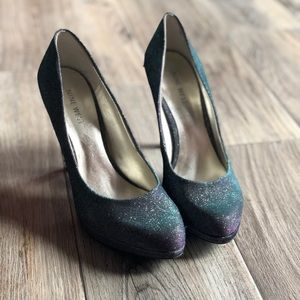 Nine West Chameleon Shimmer Heels